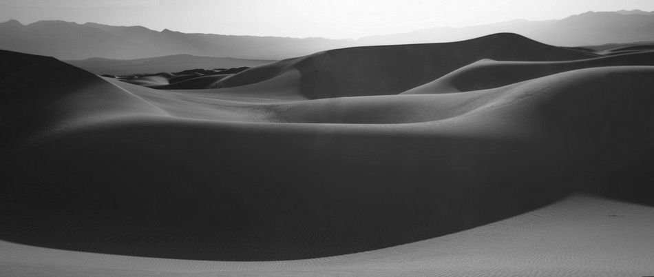 Reclining Dune, Death Valley, California